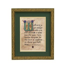 "PLAQUES, SIGNS & POSTERS ""HOUSE BLESSING"" MANUSCRIPT 8X10 PLAQUE"