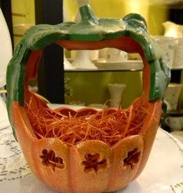 HALLOWEEN SMALL PUMPKIN BASKET