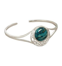BRACELETS & BANGLES HEATHERGEM CORMAG CELTIC BANGLE