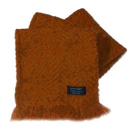 ACCESSORIES BRANIGAN WEAVERS SCARF - MARMALADE