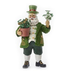 SANTAS IRISH SPLENDOR SANTA