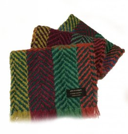 ACCESSORIES BRANIGAN WEAVERS SCARF - MULTI LT GREEN