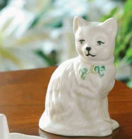 FRAMES & DECOR BELLEEK QUIZZICAL CAT