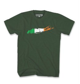 SHIRTS CARLETON LI IRISH T-SHIRT - GREEN HEATHER