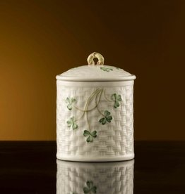 LIMITED EDITION SHAMROCK JAR - (1937-1947) BELLEEK ARCHIVE COLLECTION
