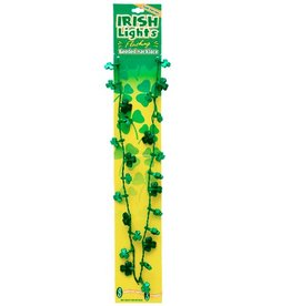 ST PATRICK'S DAY NOVELTY ST PATS LIGHT UP NECKLACE