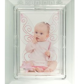 FRAME GALWAY CRYSTAL BABY FRAME - GIRL