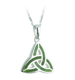 PENDANTS & NECKLACES SOLVAR STERLING & CONNEMARA TRINITY PENDANT