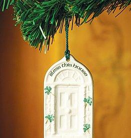 ORNAMENTS HOUSE BLESSING DOOR BELLEEK ORNAMENT