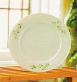 PLATES, TRAYS & DISHES BELLEEK SHAMROCK SALAD PLATE