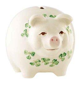 GIFTWARE BELLEEK PIGGY BANK