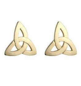 EARRINGS SOLVAR 10K TRINITY EARRINGS