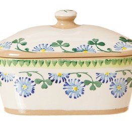 KITCHEN & ACCESSORIES NICHOLAS MOSSE COVERED BUTTER DISH - CLOVER