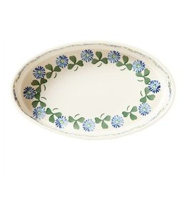 KITCHEN & ACCESSORIES NICHOLAS MOSSE SMALL OVAL OVEN DISH - CLOVER