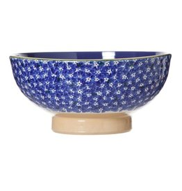 KITCHEN & ACCESSORIES NICHOLAS MOSSE LARGE SALAD BOWL - DARK BLUE LAWN