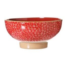 KITCHEN & ACCESSORIES NICHLAS MOSSE LARGE SALAD BOWL - RED LAWN