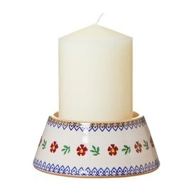 CANDLES NICHOLAS MOSSE REVERSE CANDLESTICK & CANDLE - OLD ROSE