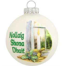 ORNAMENTS IRISH CUSTOMS GREETING ORNAMENT