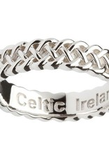 RINGS SHANORE STERLING SILVER LADIES CELTIC KNOT RING