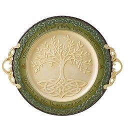 DECOR LARGE CELTIC TREE OF LIFE PLATTER