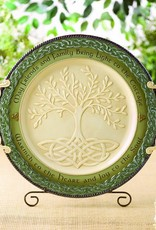 DECOR LARGE CELTIC TREE OF LIFE PLATTER
