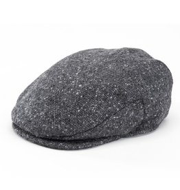 CAPS & HATS VINTAGE CHARCOAL GREY HANNA HAT