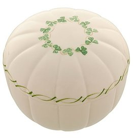 "GIFTWARE BELLEEK ADARE 4"" KEEPSAKE BOX"
