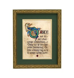 "PLAQUES, SIGNS & POSTERS ""DANCE AS IF..."" MANUSCRIPT 8X10 PLAQUE"