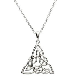 PENDANTS & NECKLACES SHANORE STERLING INTRICATE TRINITY PENDANT