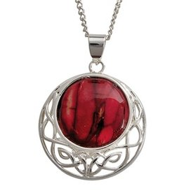 PENDANTS & NECKLACES HEATHERGEM CORMAG CELTIC PENDANT