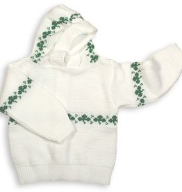 SWEATERS SHAMROCK BACK ZIP BABY SWEATER