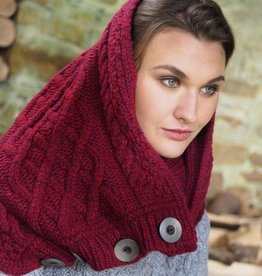ACCESSORIES NUA SUPER SOFT KNIT SNOOD - RASBERRY