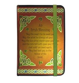 NOVELTY CELTIC NOTEBOOK - IRISH BLESSING