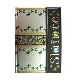 NOVELTY CELTIC NOTEBOOK - SLAINTE