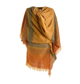 CAPES & RUANAS CELTIC RUANA - Rustic Gold