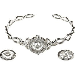 BRACELETS & BANGLES BORU STERLING KNOT INTERCHANGABLE BRACELET with 3 DISCS