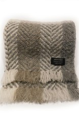 ACCESSORIES BRANIGAN WEAVERS SCARF - MULTI BEIGE