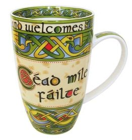 KITCHEN & ACCESSORIES CELTIC WEAVE 'CEAD MILE FAILTE' MUG