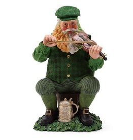 "ORNAMENTS ""FIDDLE DEE"" SANTA"