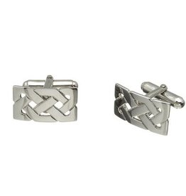 MENS JEWELRY FADO STERLING CELTIC KNOT CUFF LINKS