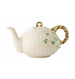 TEAPOTS, MUGS & ACCESSORIES BELLEEK LARGE SHAMROCK TEAPOT