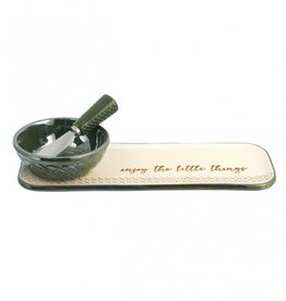 KITCHEN & ACCESSORIES CELTIC TIDBIT SET with SPREADER