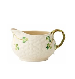 TEAPOTS, MUGS & ACCESSORIES BELLEEK SHAMROCK CREAM JUG
