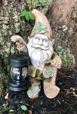 "GARDEN ""DIGGING FOR GOLD"" SOLAR GARDEN LEPRECHAUN"
