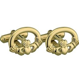 MENS JEWELRY SOLVAR GP CLADDAGH CUFFLINKS