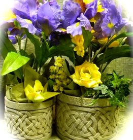 GARDEN CELTIC GARDEN PLANTERS (2pc)