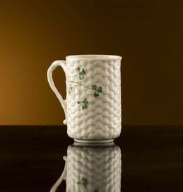 LIMITED EDITION GAELIC COFFEE MUG - (1967-1977) BELLEEK ARCHIVE COLLECTION