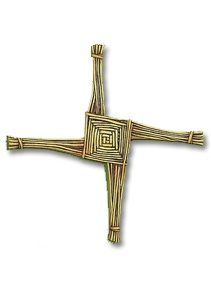 CROSSES ST. BRIGIDS WALL CROSS & CARD