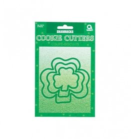 KITCHEN & ACCESSORIES SHAMROCK PLASTIC COOKIE CUTTERS