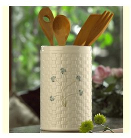 TEAPOTS, MUGS & ACCESSORIES BELLEEK SHAMROCK UTENSIL HOLDER